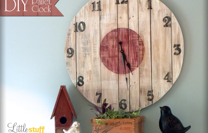 DIY Wood Pallet Clock