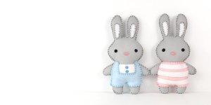stuffed bunnies