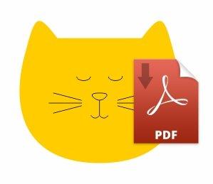 cat head pdf image