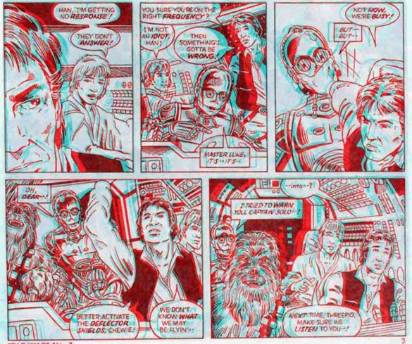 Image result for Star Wars 3D comics