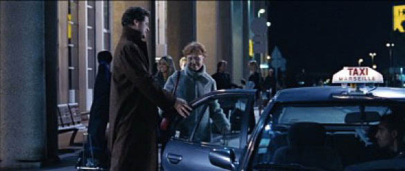 Image result for love actually - jeanne moreau in taxi at marseilles airport
