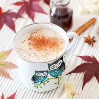 Chai Spiced White Hot Chocolate