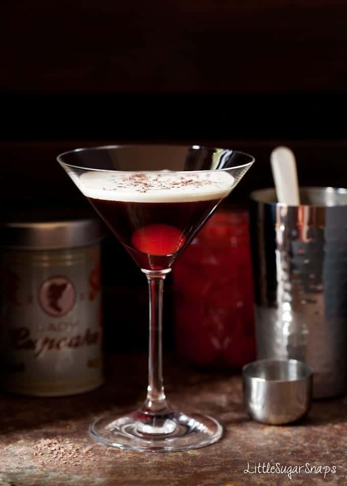 Bourbon Black Forest Cocktail