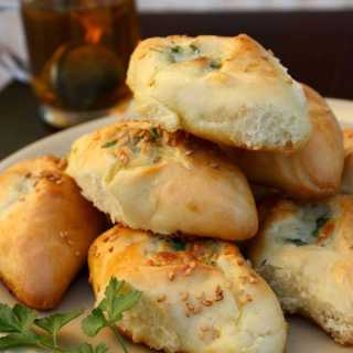 White Cheese Pastries (Fatayer Jebneh)