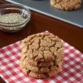 Gluten-Free Spiced Cashew Butter Cookies