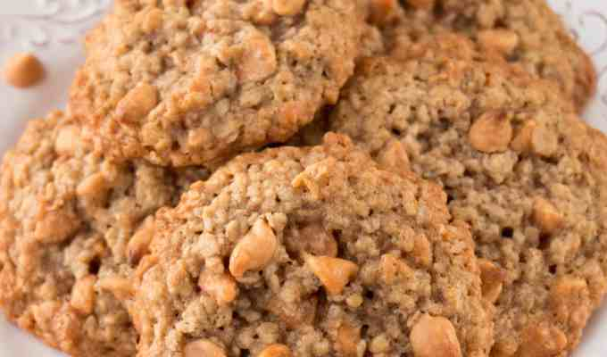 Soft and Chewy Oatmeal Scotchies