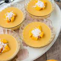 Mango Pudding (video)