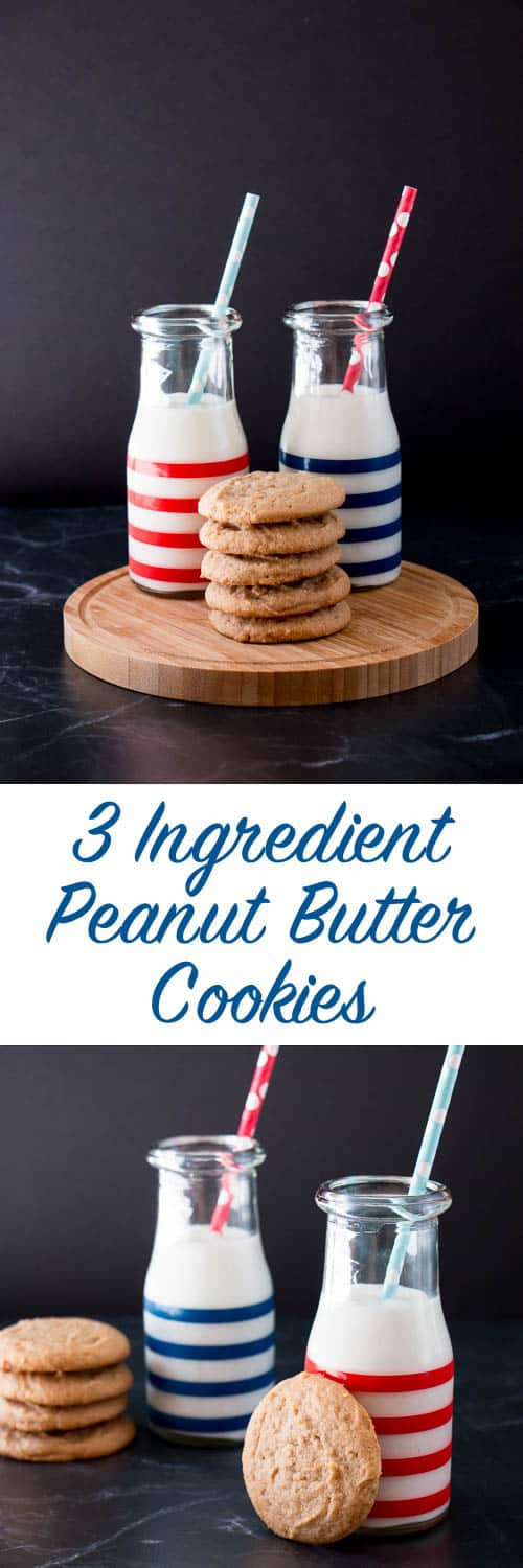 Peanut butter, sugar and an egg is all you need to make these fabulous cookies in a snap!(video recipe)