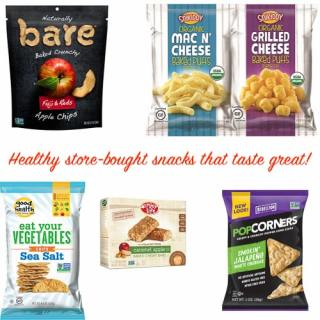 Healthy Store-Bought Snacks for Kids