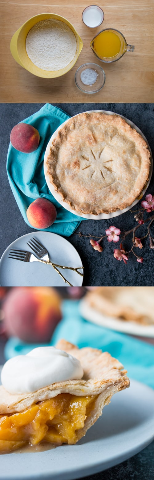 This is the EASIEST all-butter pie crust you'll ever make! Just 4 ingredients, mix it all together, roll, and bake. It's really that simple.
