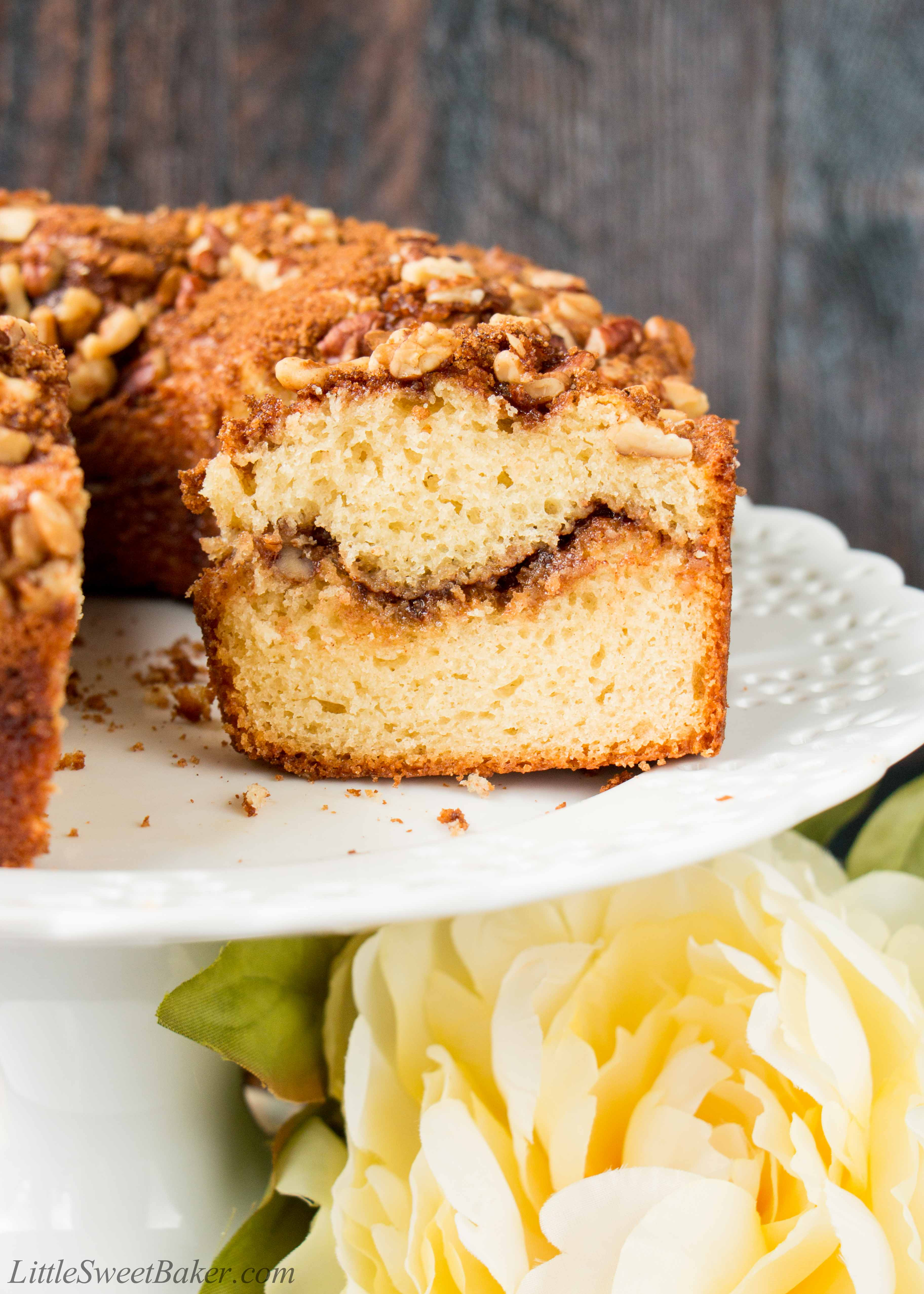 Sour Cream Coffee Cake Little Sweet Baker