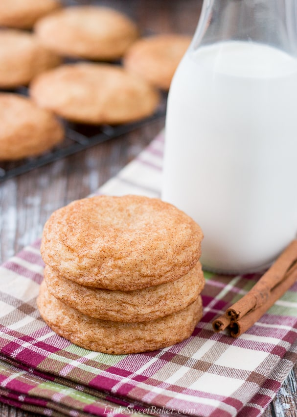 Snickerdoodle Cookies Little Sweet Baker
