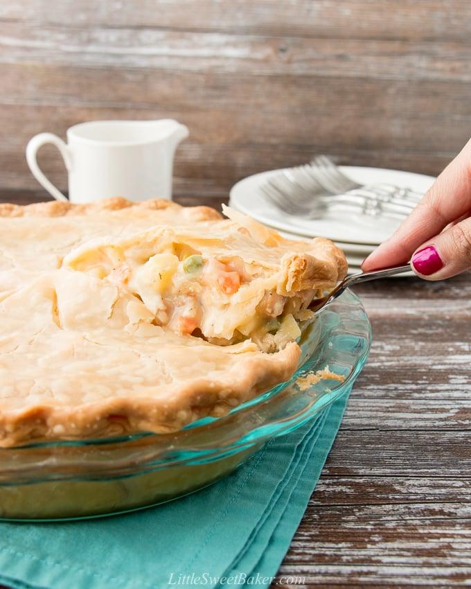 Easy Chicken Pot Pie Little Sweet Baker