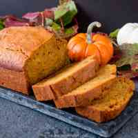 Moist and Easy Pumpkin Bread (video)