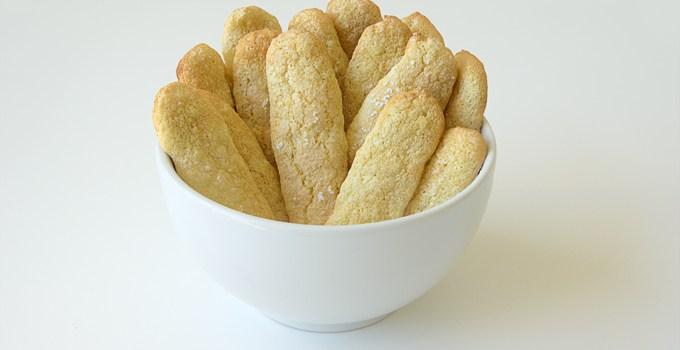 Homemade Ladyfingers Cookies