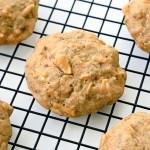 Vegan Apple Pumpkin Spice Cookies