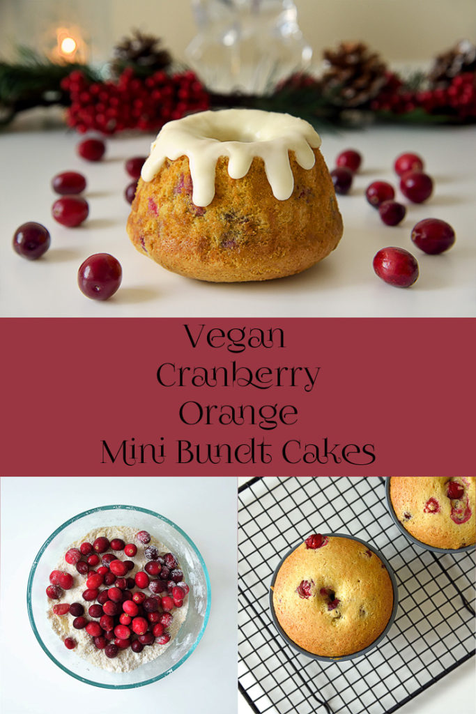 Vegan Cranberry Orange Bundt Cake