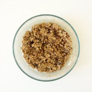 Date Walnut Oatmeal Raisin Cookies