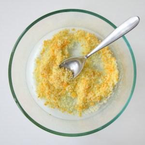 Image of sugar and orange zest