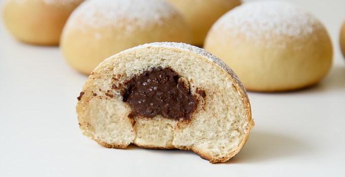 Chocolate Filled Vegan Sweet Buns