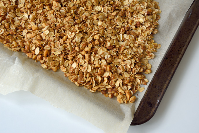 Easy Basic Granola Recipe