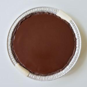Vegan Strawberry Chocolate Pie