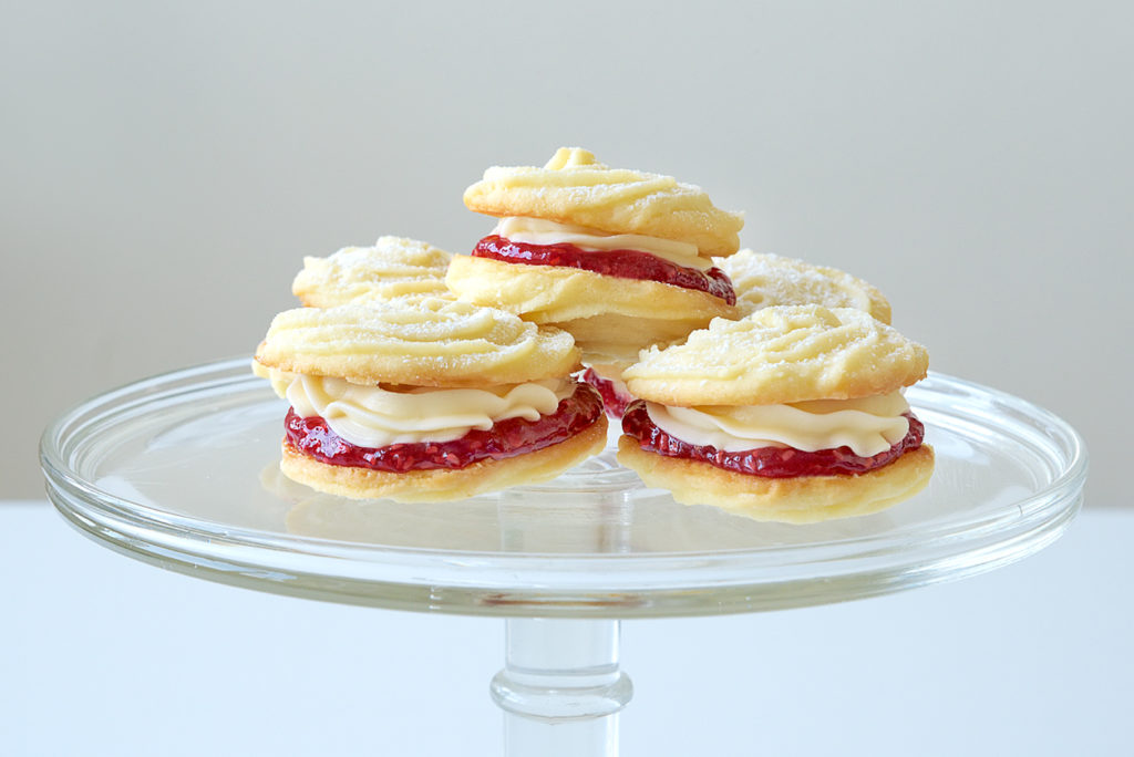 Viennese Whirls Biscuits