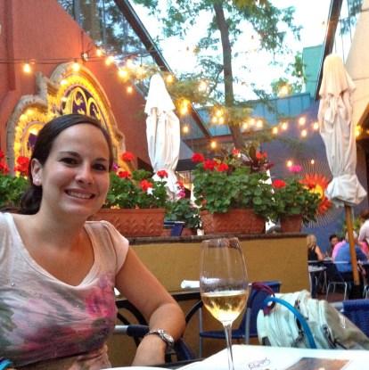 Dinner at the Med