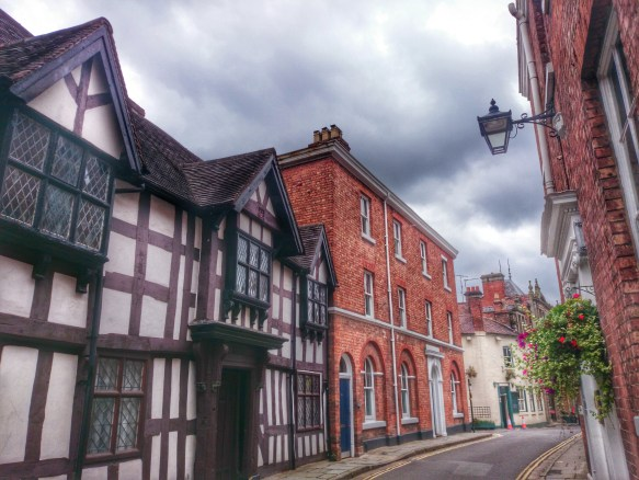 Timber-framed buildings, Shrewsbury