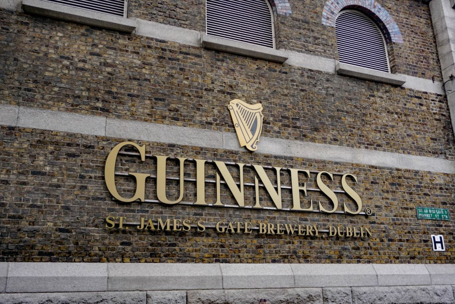 Guiness Storehouse - Dublin Budget Travel