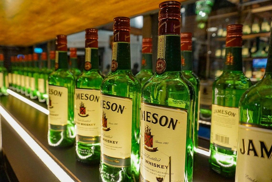 Jameson Distillery Dublin Ireland Tour
