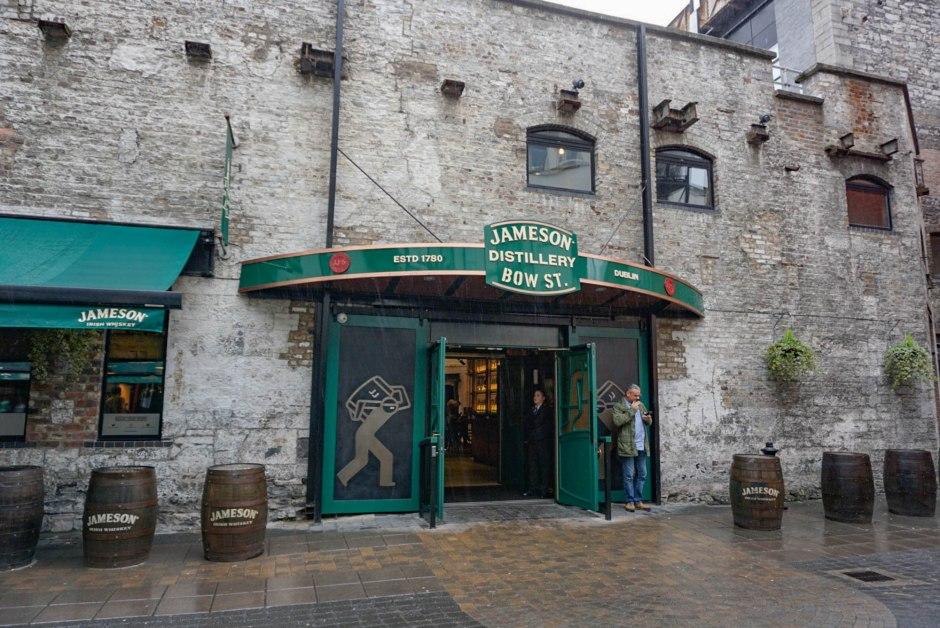 Old Jameson Distillery Dublin Ireland