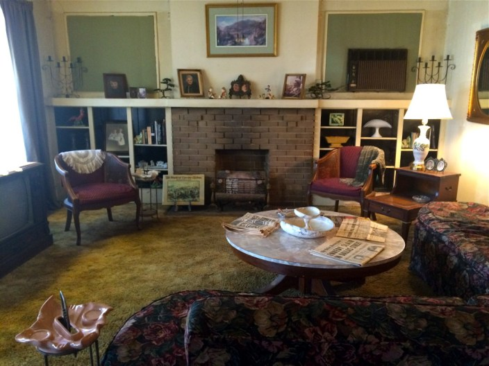 The Living Room at Oswald's Rooming House