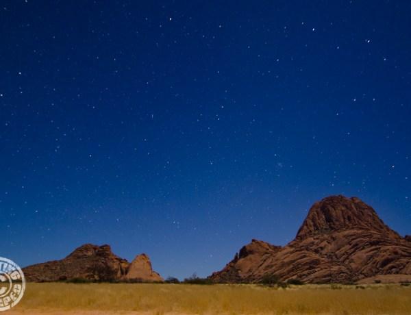 Namibia Night Sky - GettingStamped