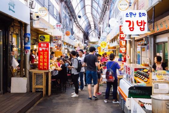 Tongin Market Seoul Street Food