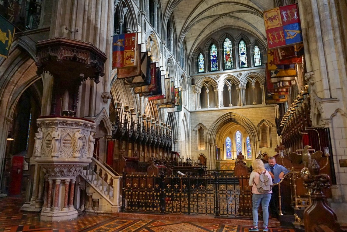 St. Patricks Cathedral Dublin Ireland