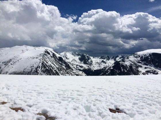 Rocky Mountain National Park Snow
