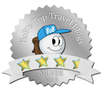 BoBs Top Travel Blogger Award Star SILVER-35