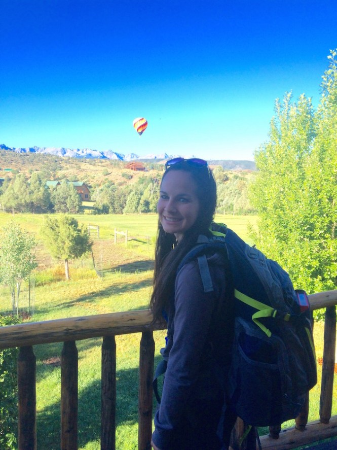 Gama Backpack During Colorado Airbnb Stay