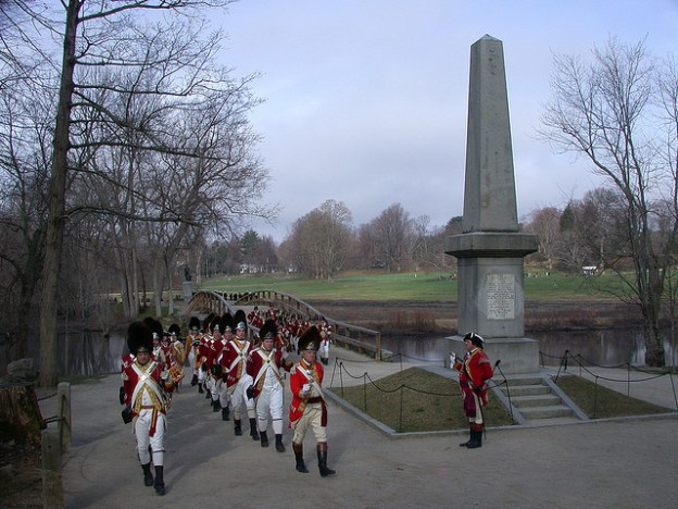 Patriot's Day Battle Reenactment Concord