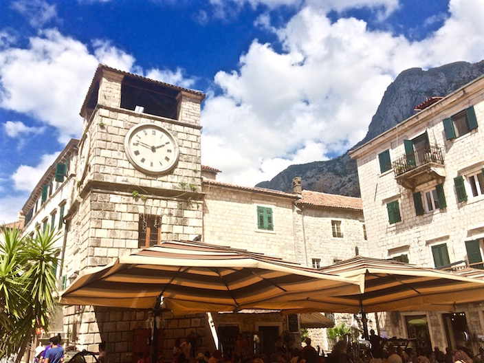 Clock Tower Kotor Montenegro