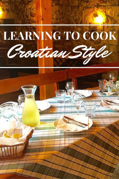 Cooking Croatian Style