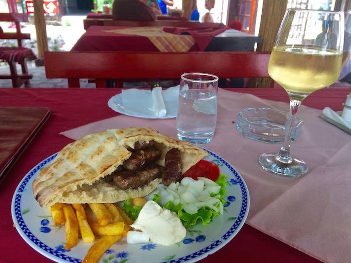 Ćevapčići sa Kajmakom - Mostar Bosnia and Herzegovina