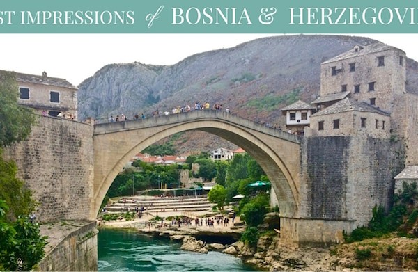 First Impressions of Bosnia and Herzegovina Day Trip