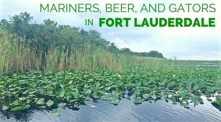 Fort Lauderdale Mariners Beer and Gators