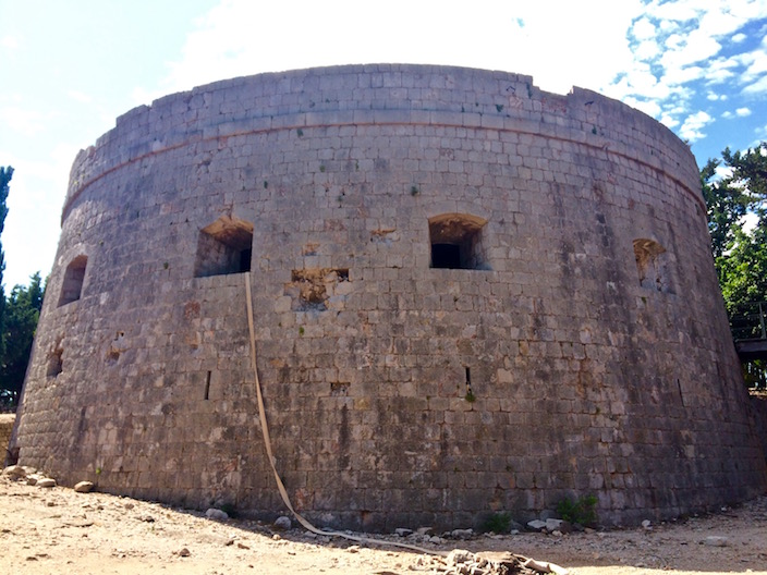 Fort Royal Island of Lokrum Croatia