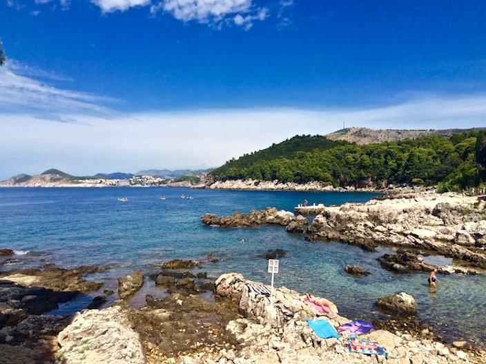 Island of Lokrum Croatia Beach