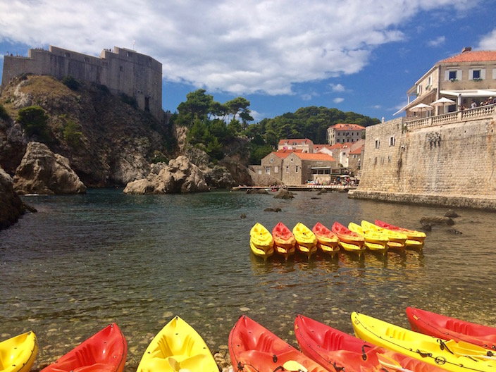 Kayaks Dubrovnik Croatia