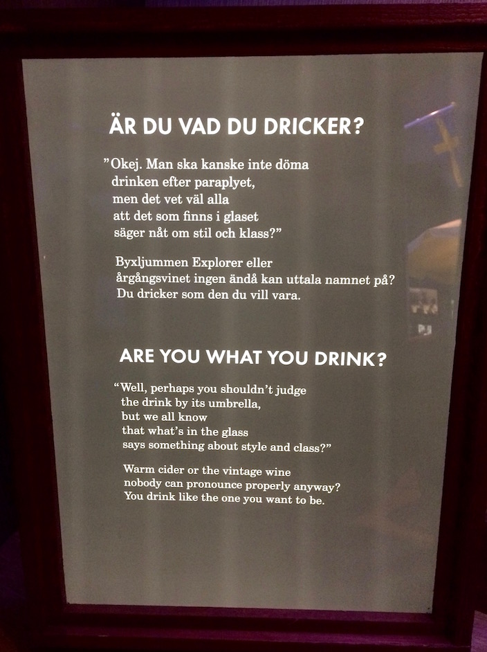 Snaps Spiritmusem Stockholm