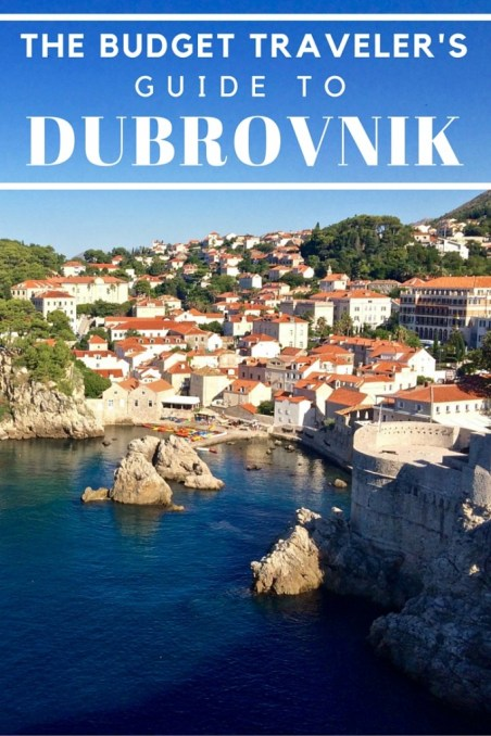 The Budget Traveler's Guide To Dubrovnik, Croatia